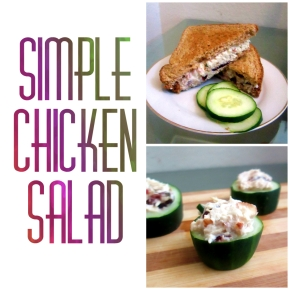Quick & Simple Chicken Salad